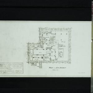 Blueprint Plan of Sub-Basement S.C.I. South Street Coenties Slip_124.jpg